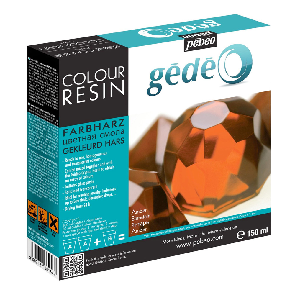 Gedeo Color Resin Amber 150Ml