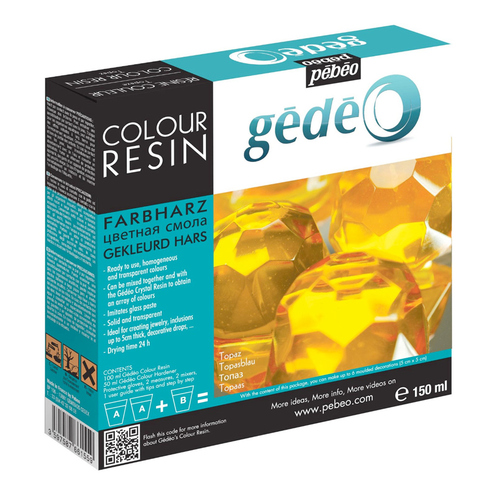 Gedeo Color Resin Topaz 150Ml