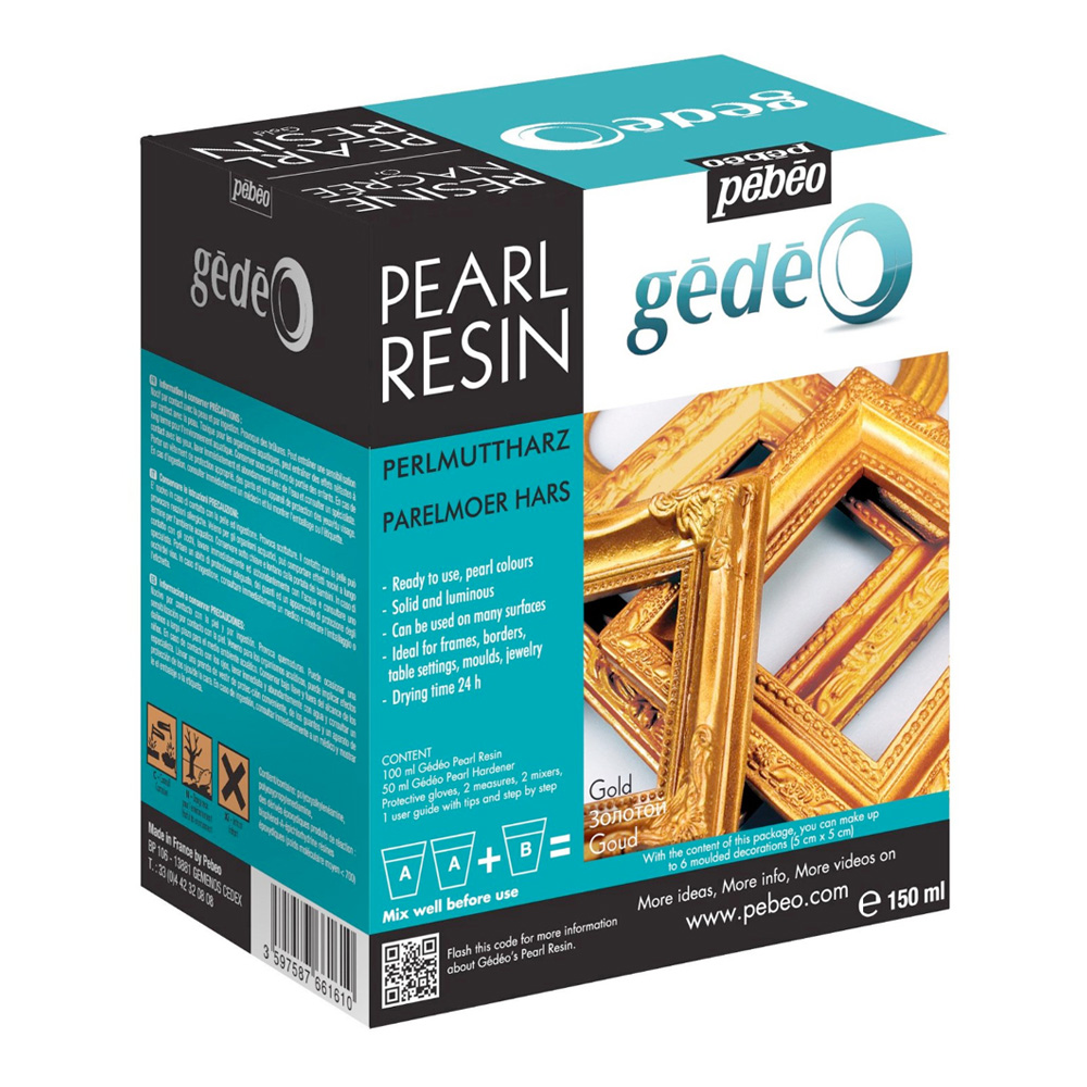 Gedeo Pearl Resin Gold 150Ml