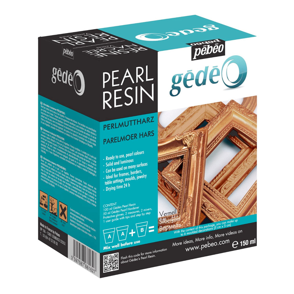 Gedeo Pearl Resin Vermil 150Ml