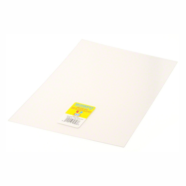 Clear Polyester Sheet .020 X 7.6 X 11 Inches