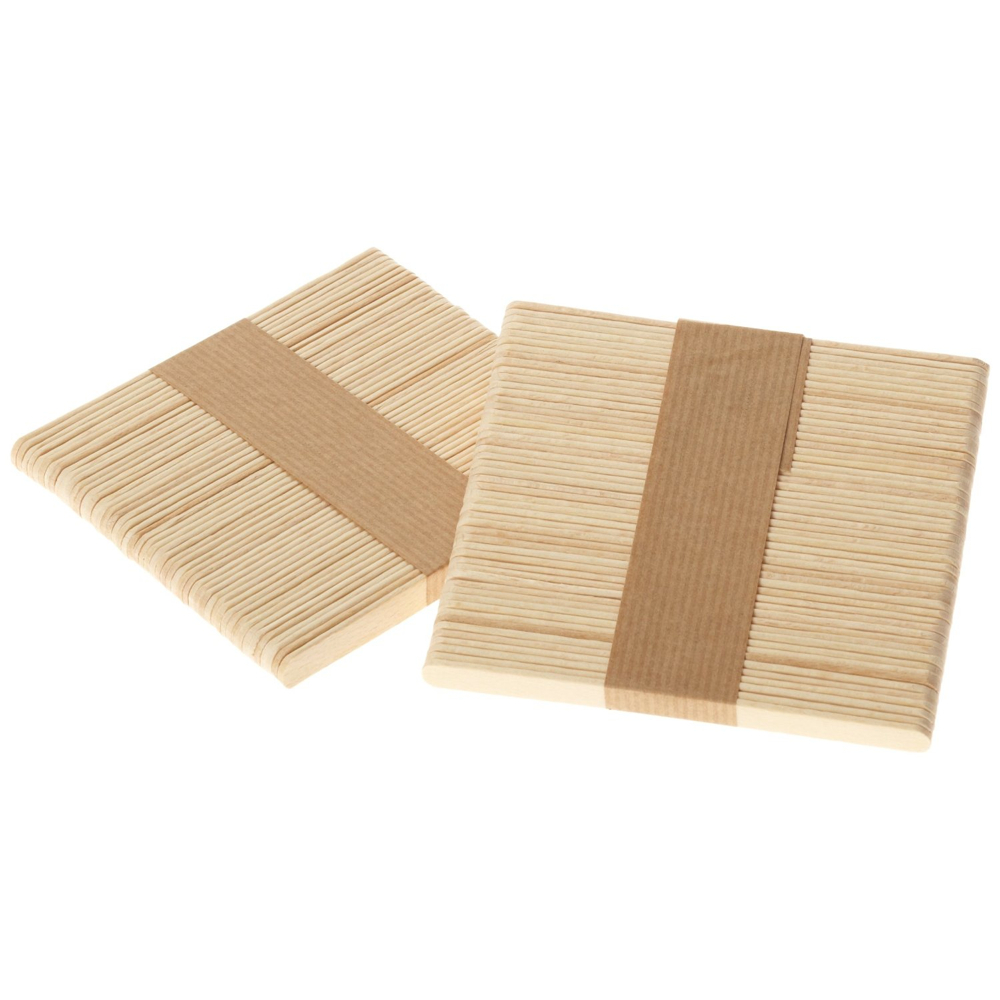 Wood Craft Sticks Bag Of 150