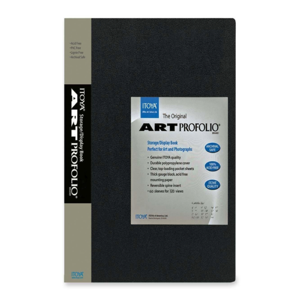 Itoya Original Art Profolio 5X7 24 Sleeves