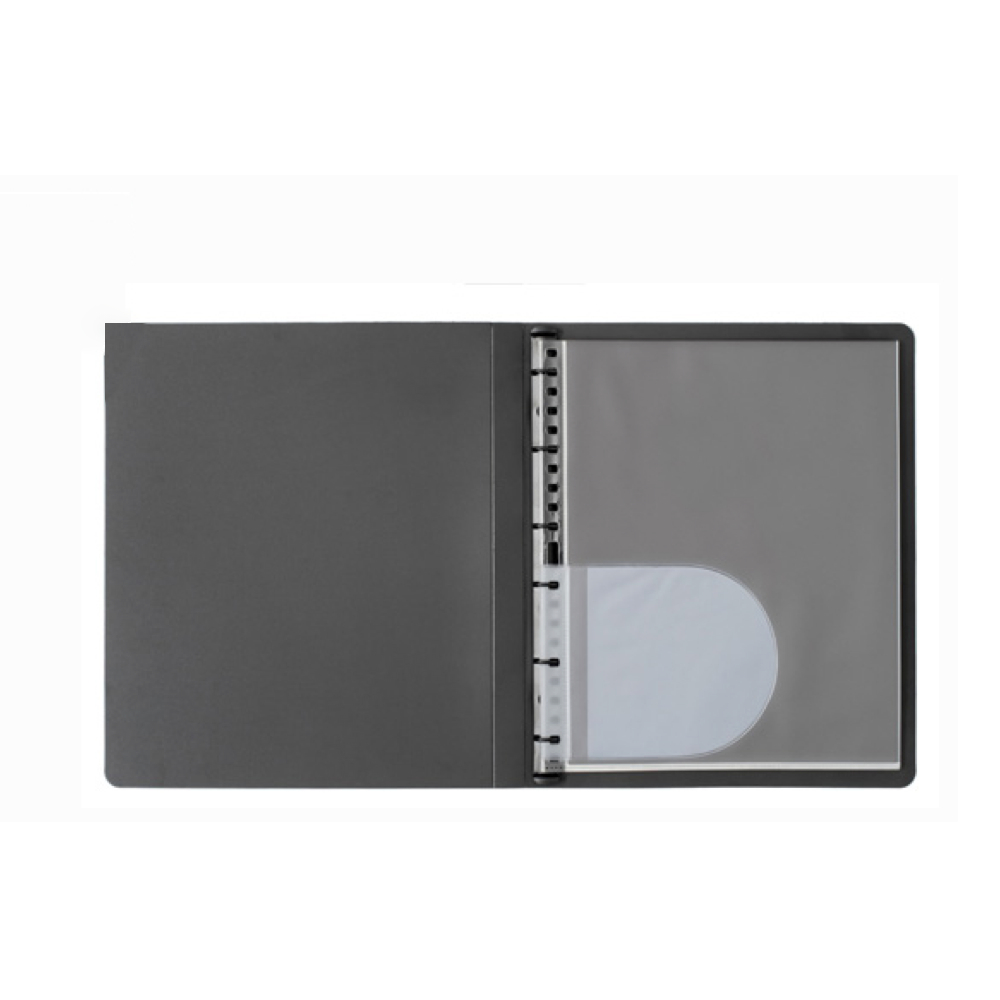 Prat Start Spiral Book 14X11 Black