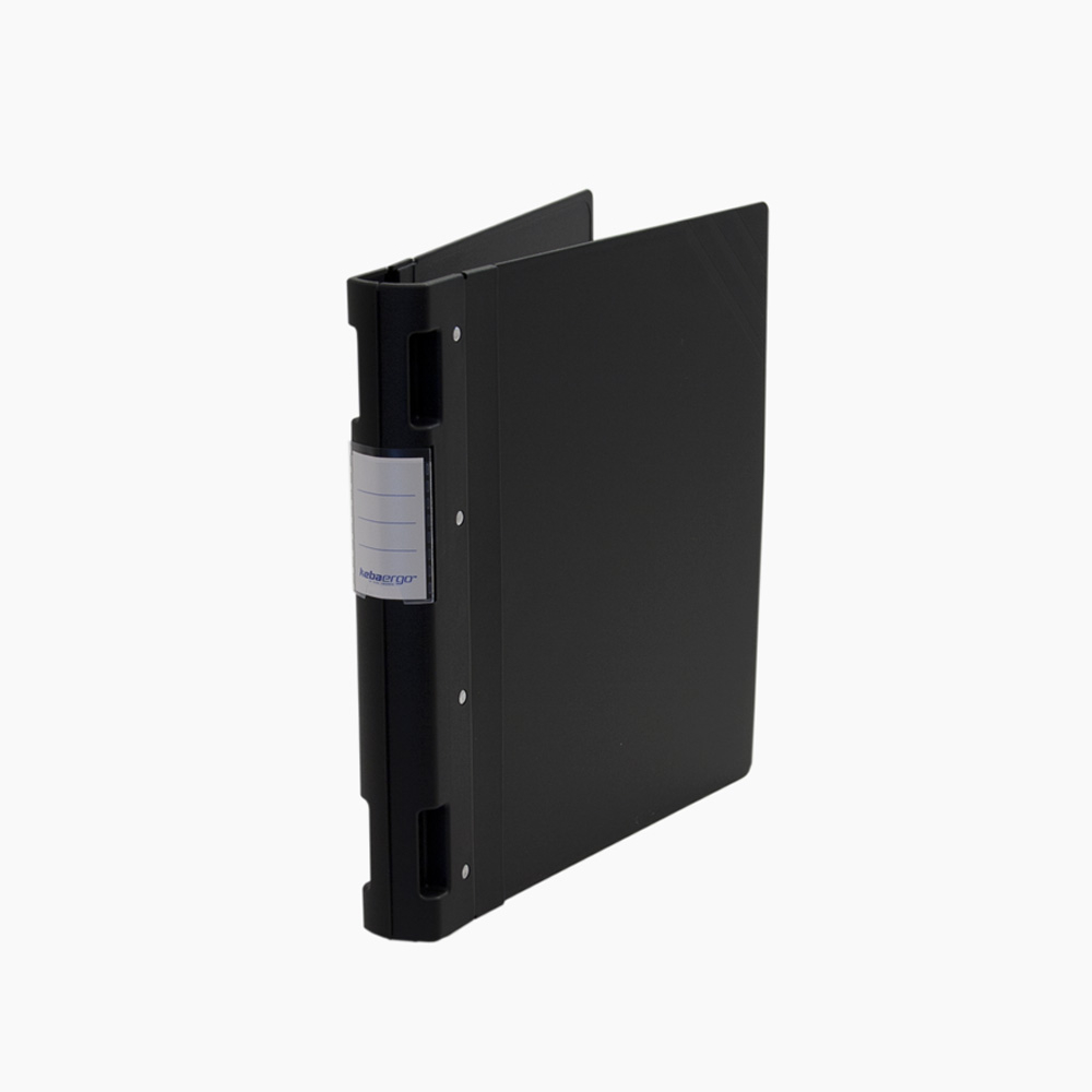 Keba Ergo 1.5In Ring Binder 8.5X11 Black