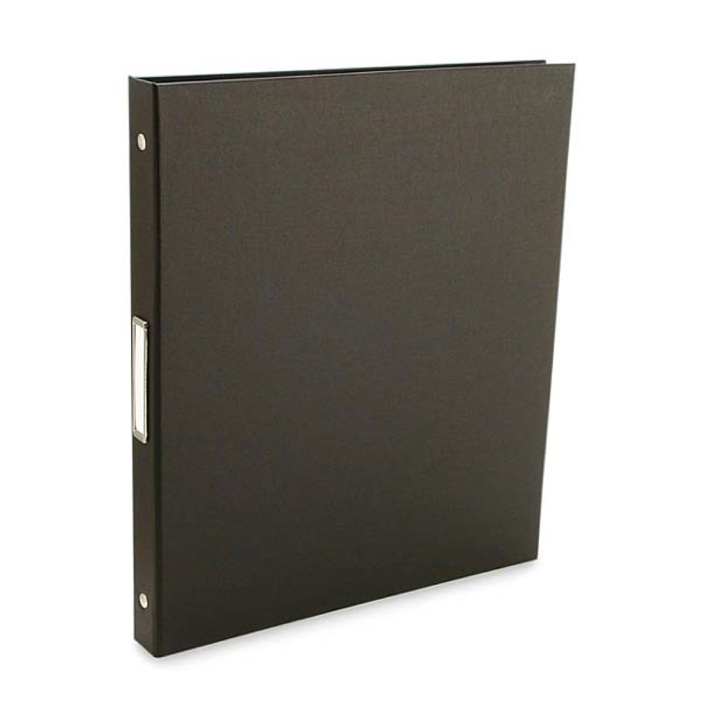 Pina Bex Black 3-Ring Binder 11X8.5X.5