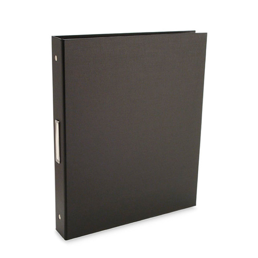 Pina Bex Black 3-Ring Binder 8.5X11X1