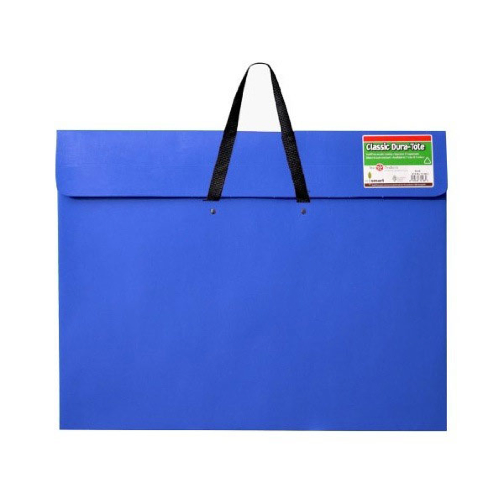 Dura-Tote Portfolio W/Handle Blue 20X26X2