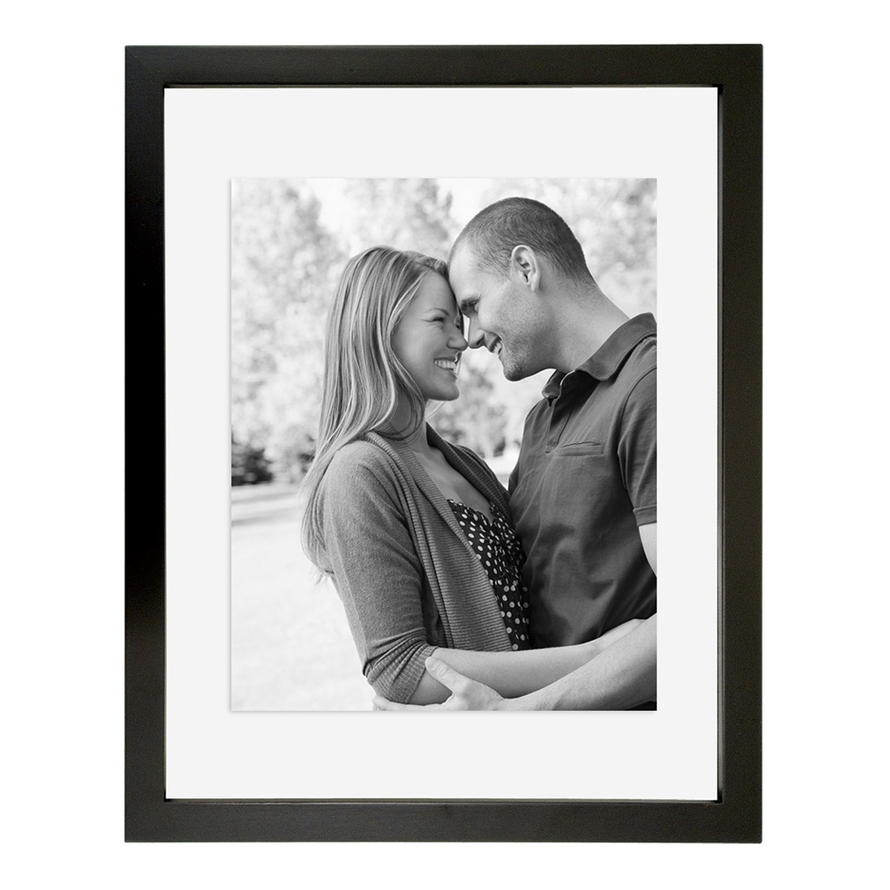 Float Frame Black Wood 11X14