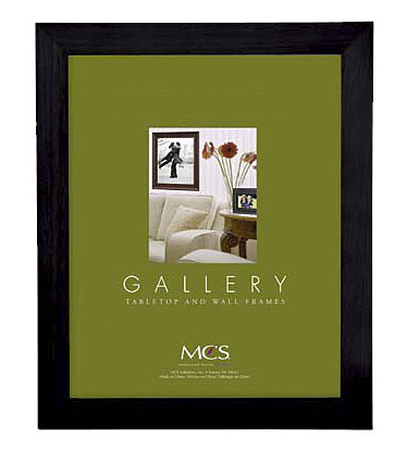 Gallery Flat-Top Wood Frame Black 16X20