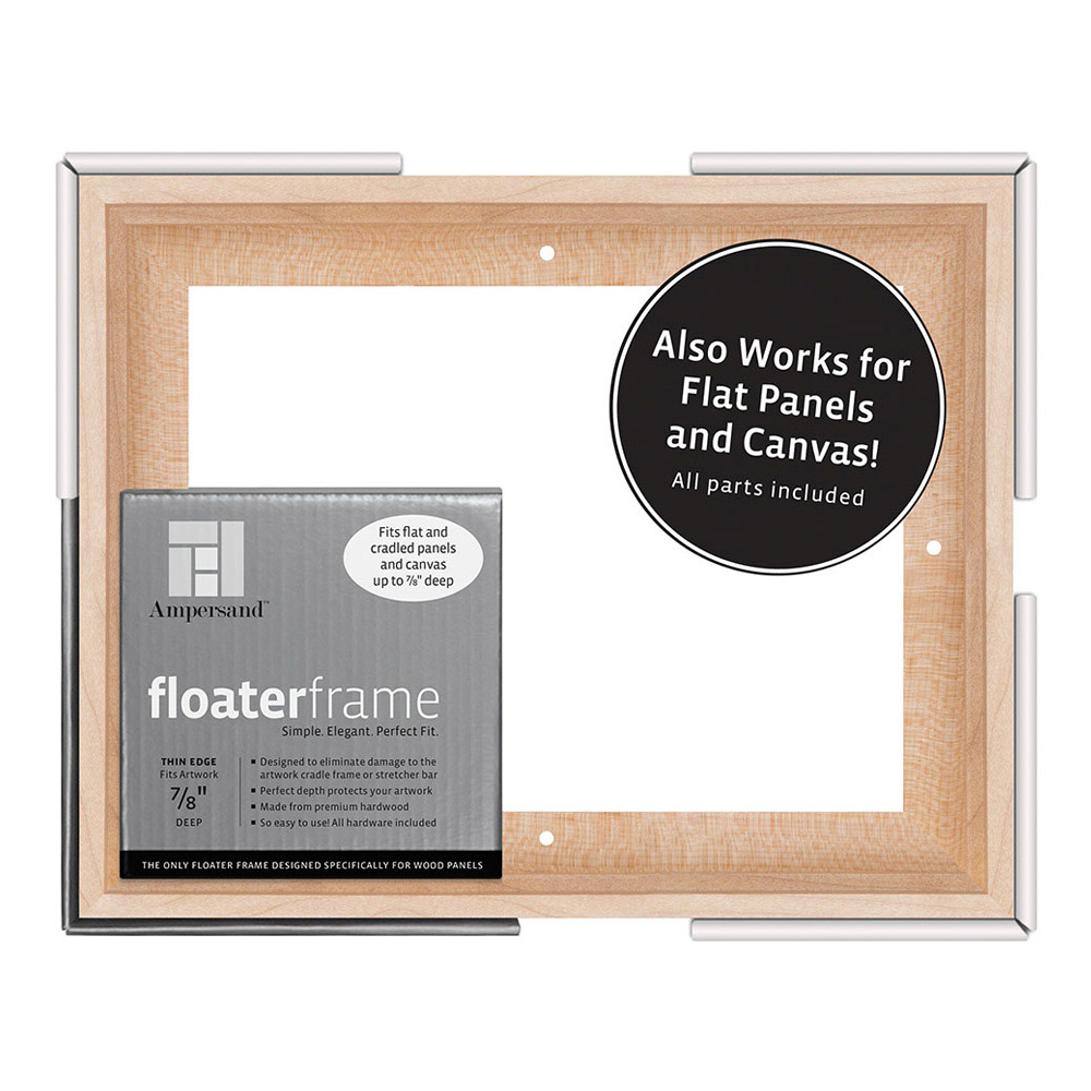 BUY Ampersand Float Frame 7/8In Thin 8X10 Maple