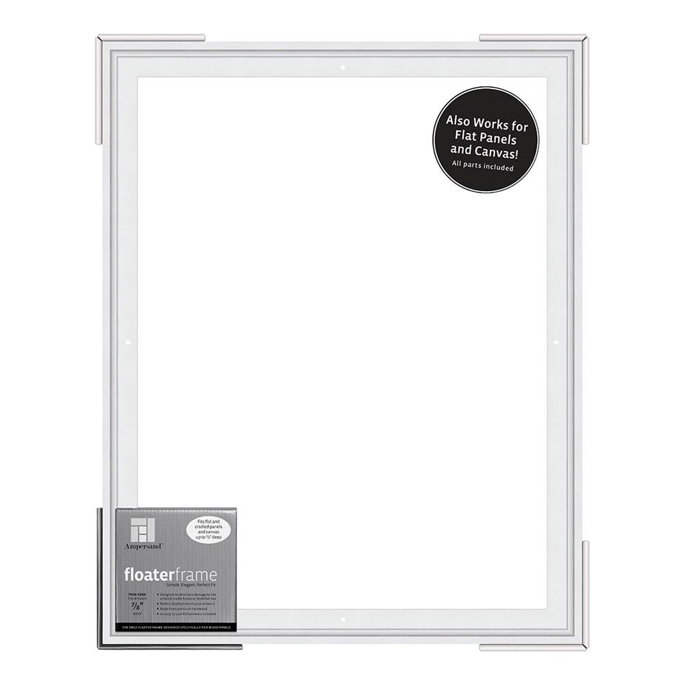 BUY Ampersand Float Frame 7/8In Thin 16X20 White