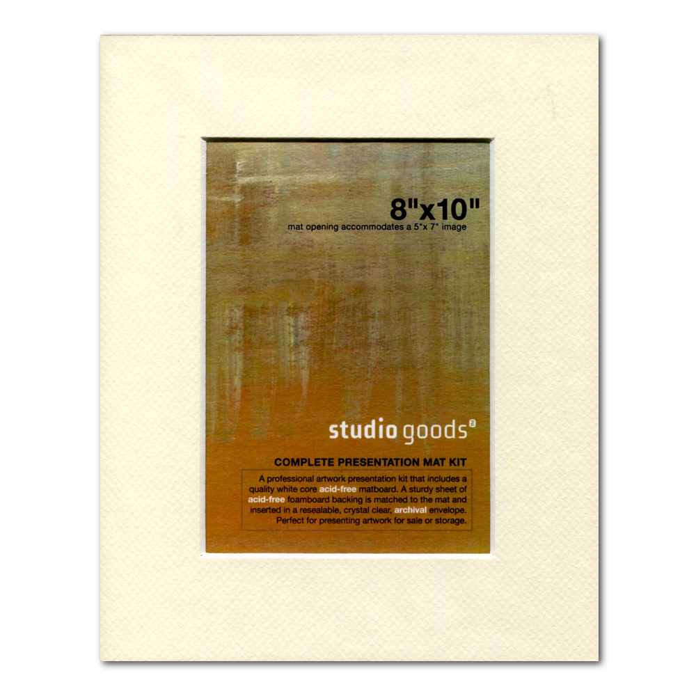 Studio Goods Mat Kit 8X10 Lady White