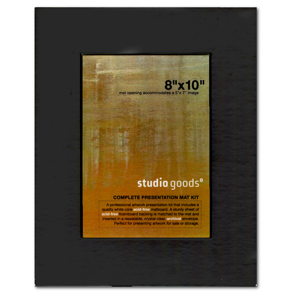 Studio Goods Mat Kit 8X10 Black