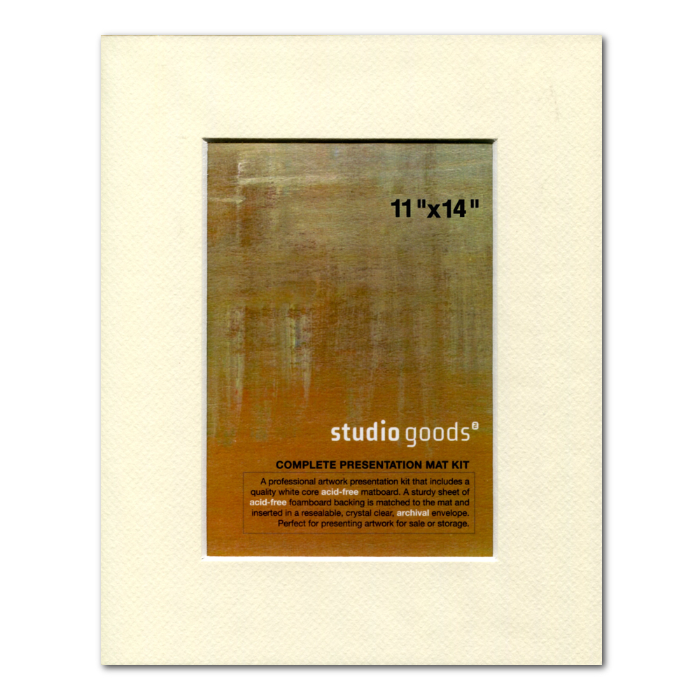 Studio Goods Mat Kit 11X14 Lady White