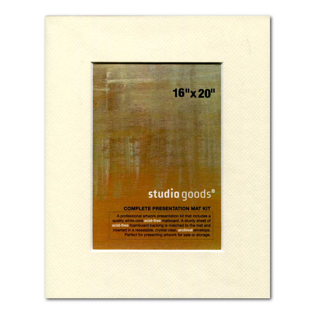 Studio Goods Mat Kit 16X20 Lady White