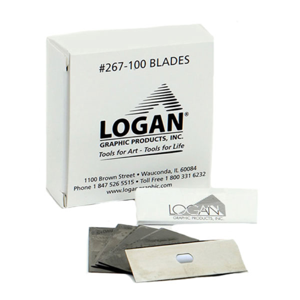 Logan 267-100 Mat Blades Box 100