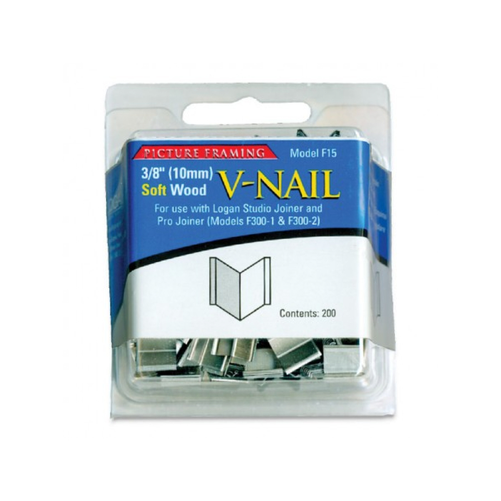 Logan Hardware V-Nails 3/8 Inch Soft Pkg 200
