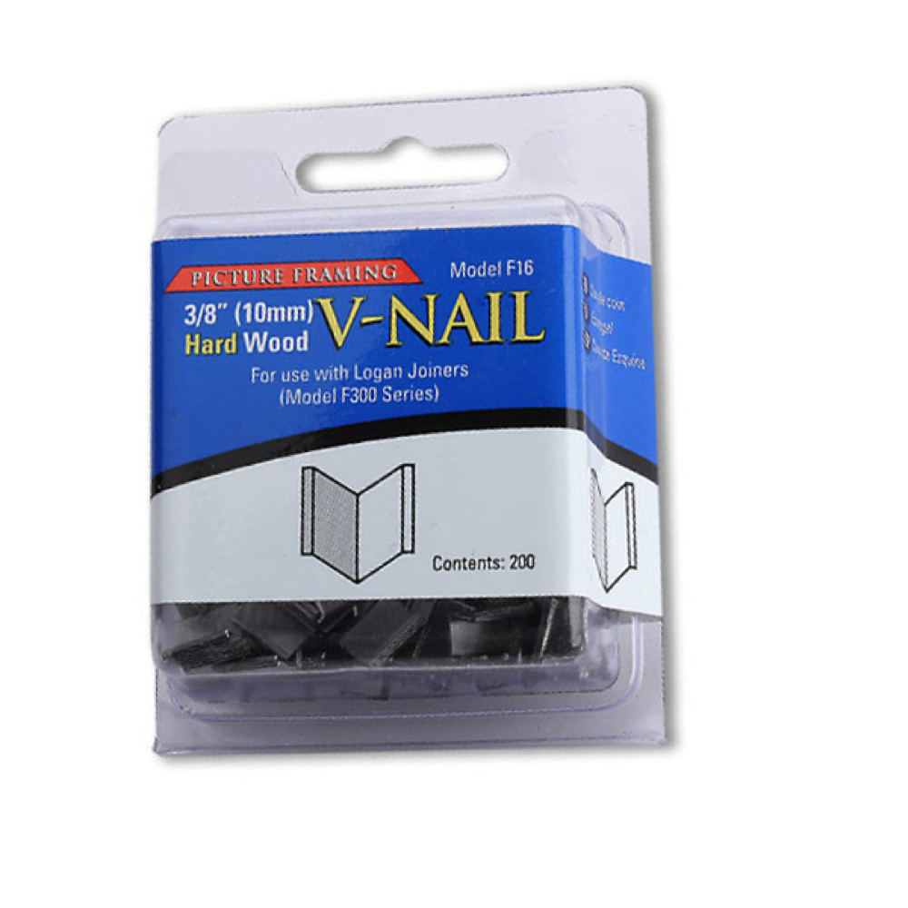 Logan Hardware V-Nails 3/8 Inch Hard Pkg 200
