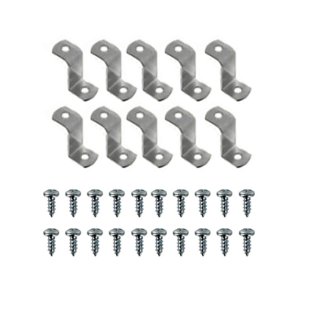 Canvas Offset Clips 1/2 Inch 10/Pkg