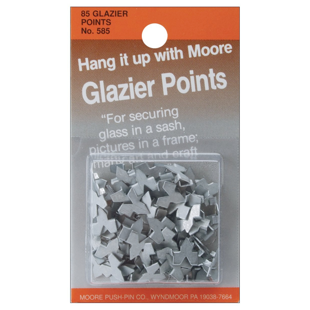 Moore #7 Glazier Points Pkg 85