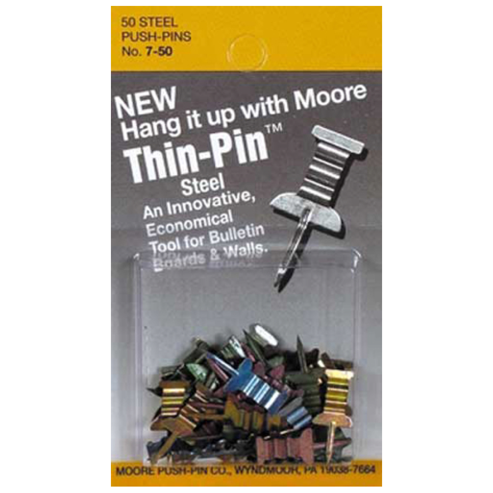 Moore Thin-Pins 50/Pack