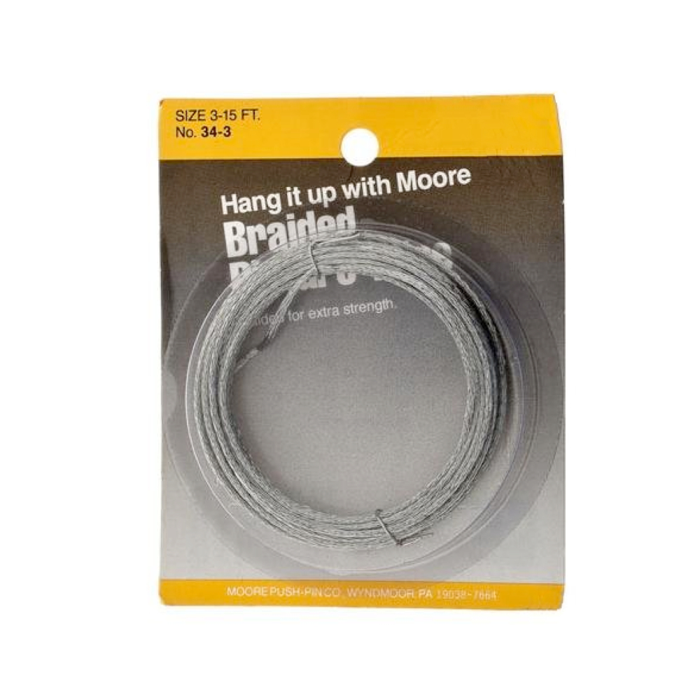 Moore #3 Braided Picture Wire >30Lbs