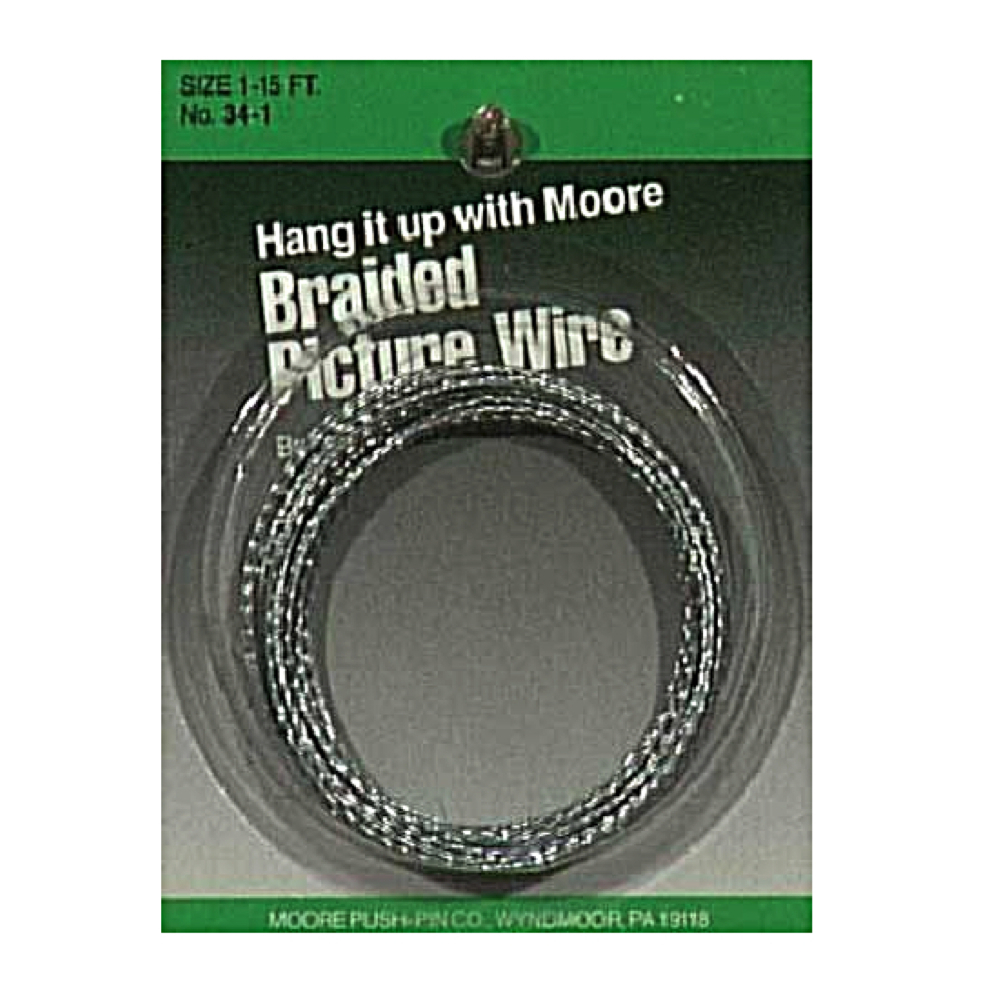 Moore #4 Braided Picture Wire 40Lbs