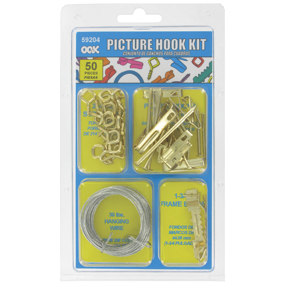 Ook Picture Hook Kit - 50-Pieces