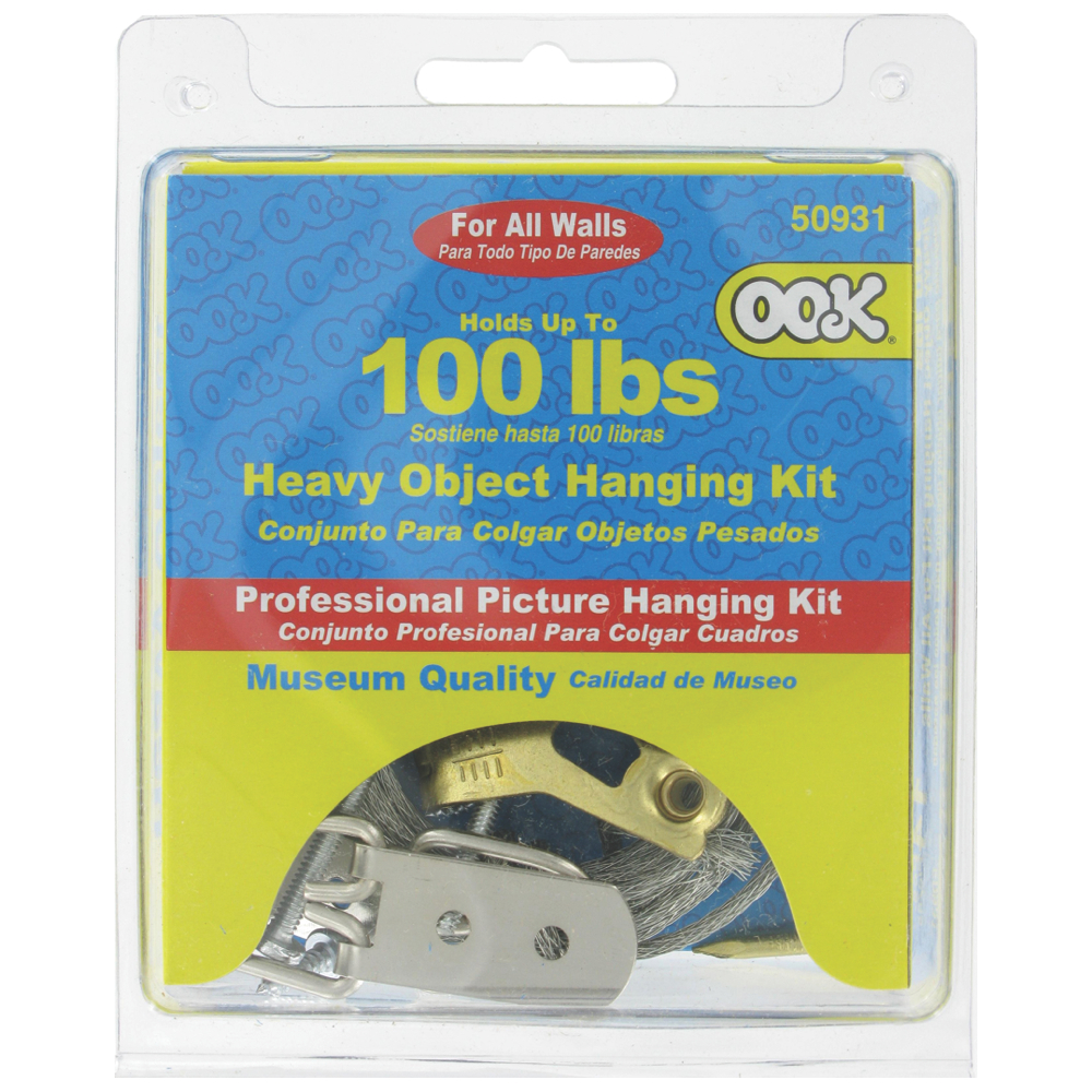 Ook Heavy Object Hanging Kit - Up To 100 Lbs