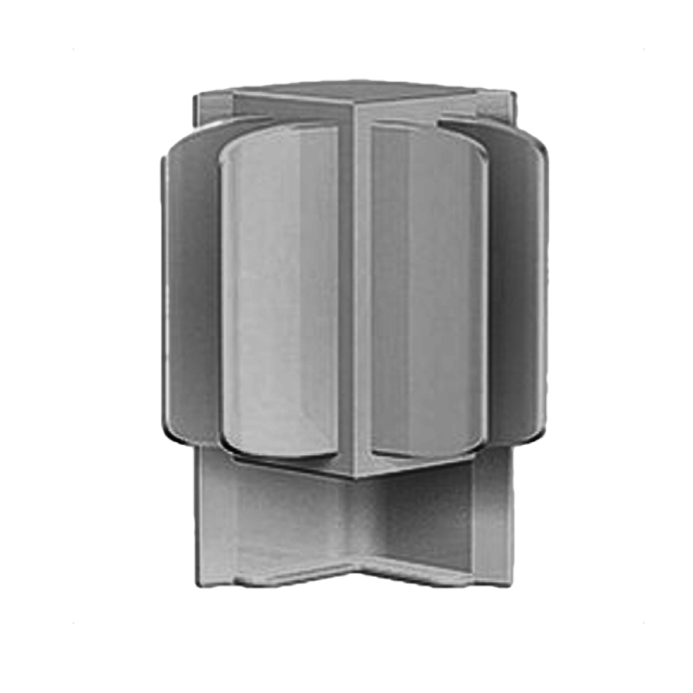 Arti Teq Corner Connector Gray 2/Pk