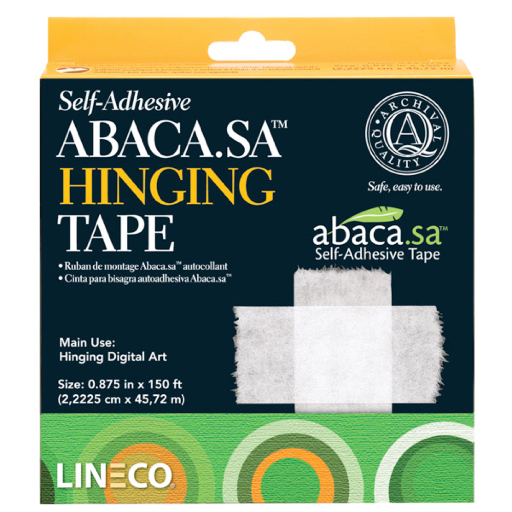 Self-Adhesive Abaca Hinging Tape .875 X 150Ft