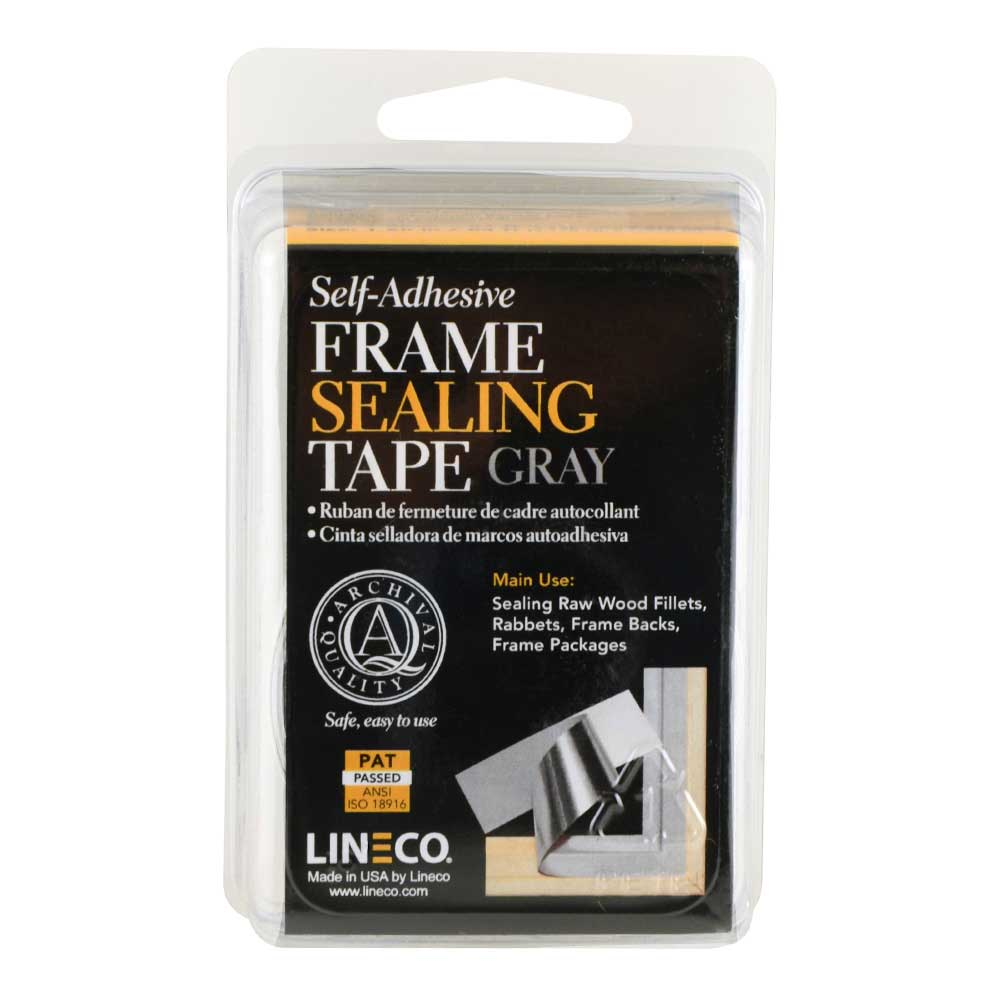 Lineco Frame Sealing Tape Gray 1.25In X 12Ft