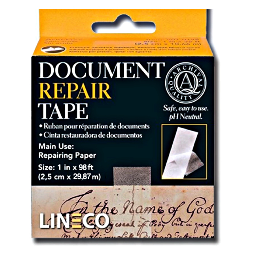 Archival Document Repair Tape 1Inch X 98 Feet
