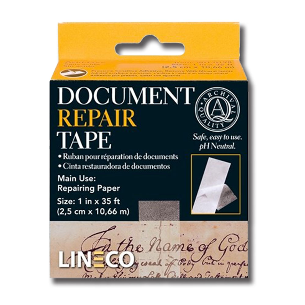Archival Document Repair Tape 1Inch X 35 Feet
