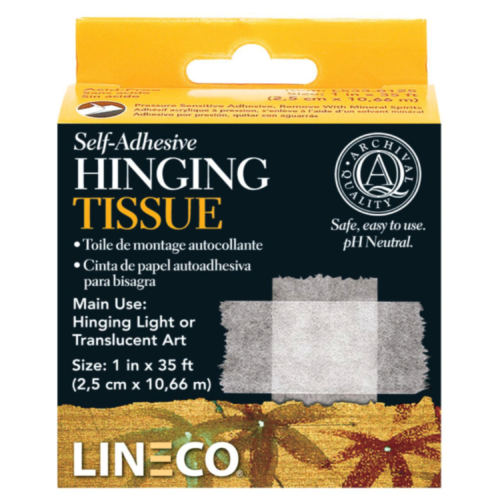 Self-Adhesive Hinging Tissue 1Inch X 35Feet