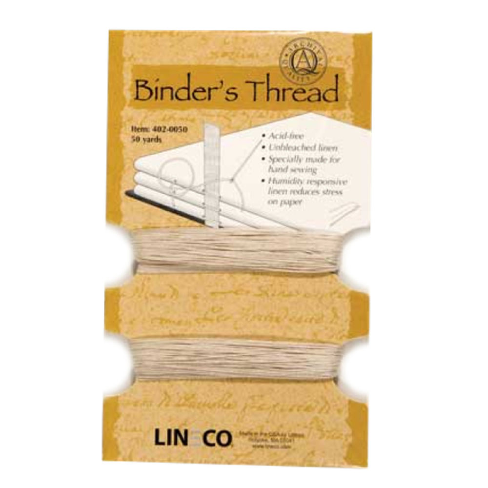 Lineco Book Binding Thread Pkg 50Yds