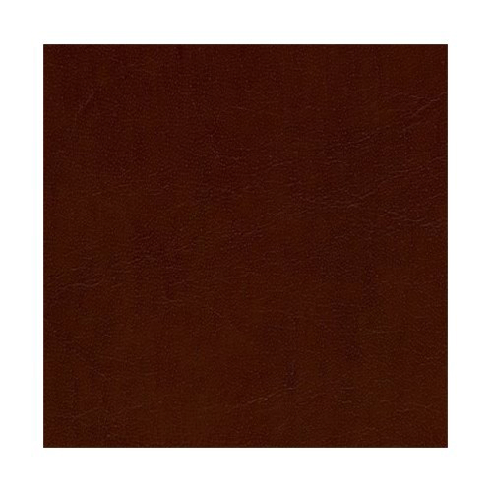 Bookcloth Gloss Brown Genuine Leather 17X19In