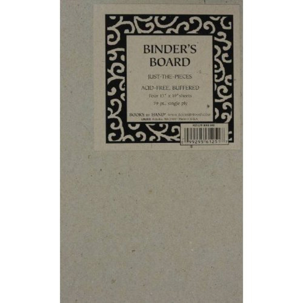 Book Binders Brd 79Pt Acid Free 15X20.5 Pk/4