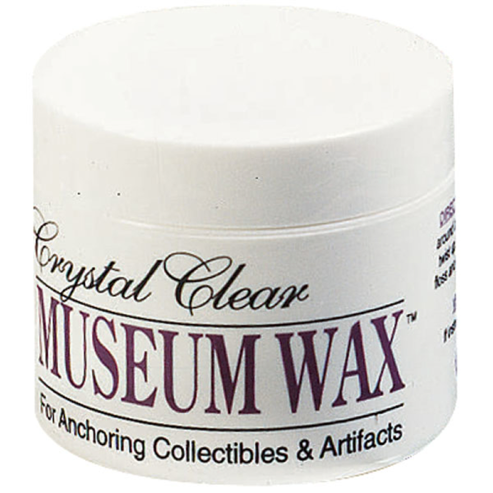 Crystal Clear Museum Wax 1.75 Fl Oz