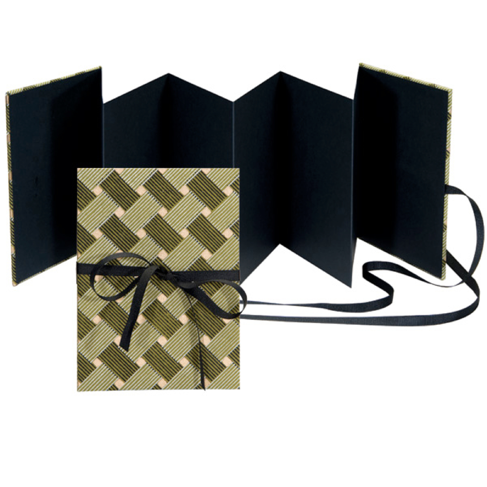 Lineco Accordion Album Kit Green & Black