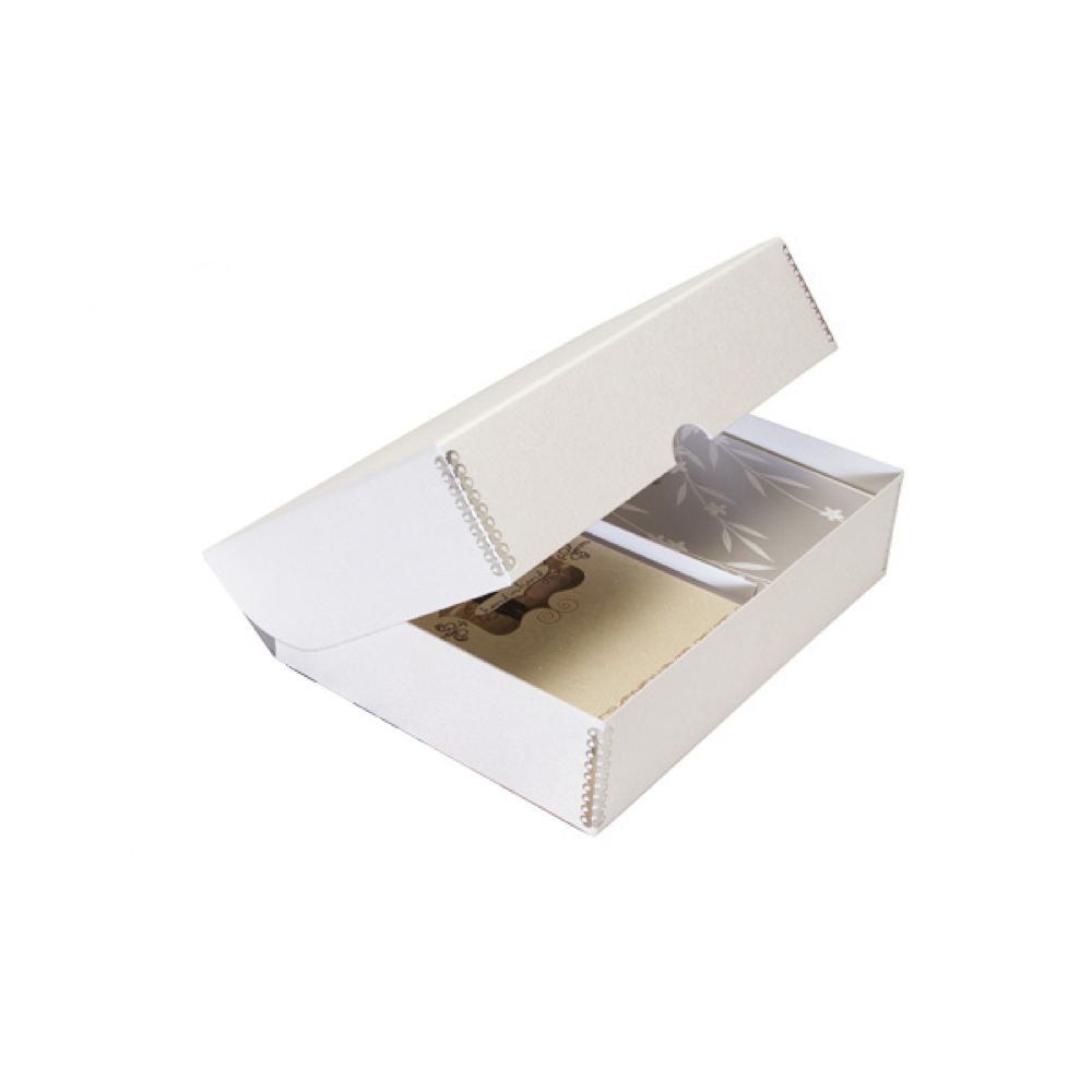 Buy Lineco Greeting Card Storage Box Pure White