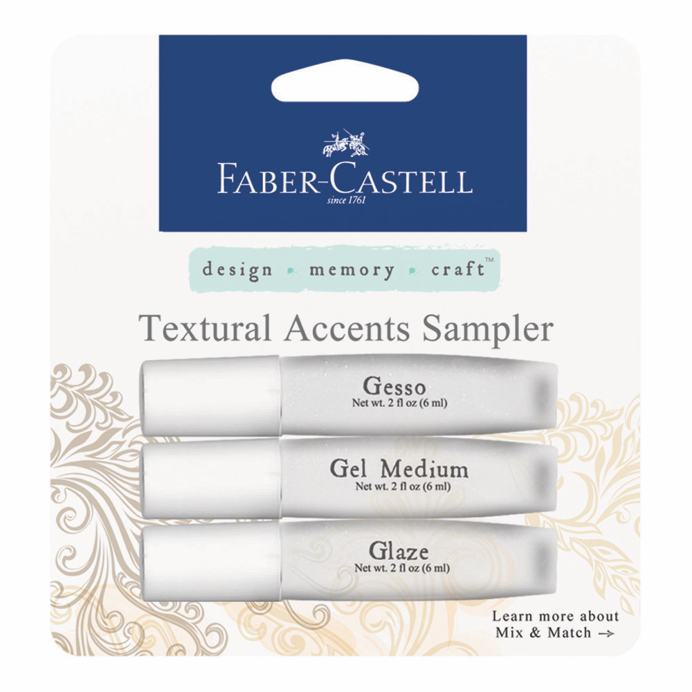 Design Memory Craft Textural Accents 3 Pk