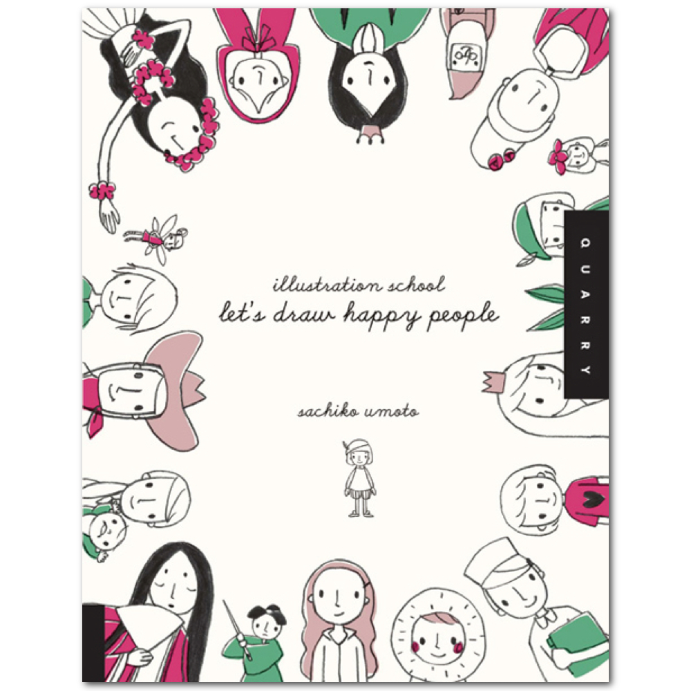 Let's Draw Happy People Book