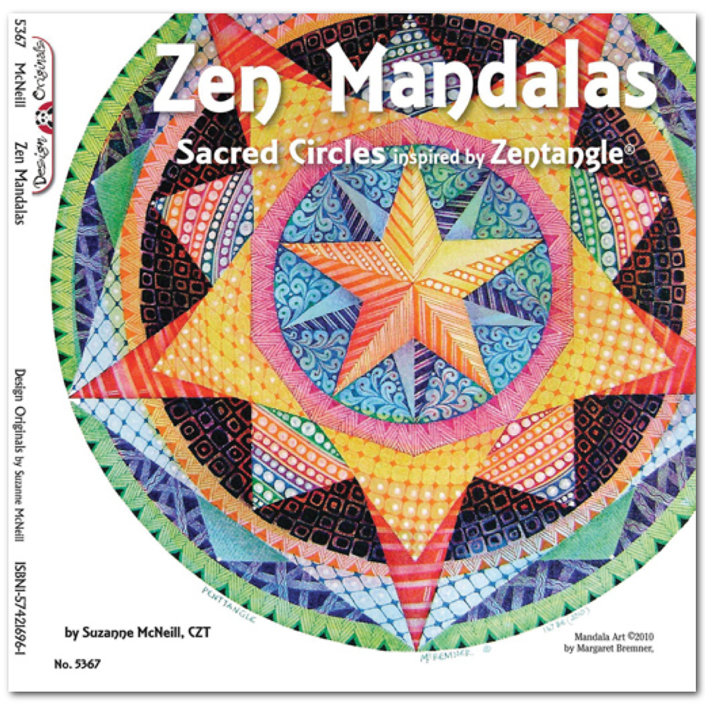 Zentangle Zen Mandalas Book