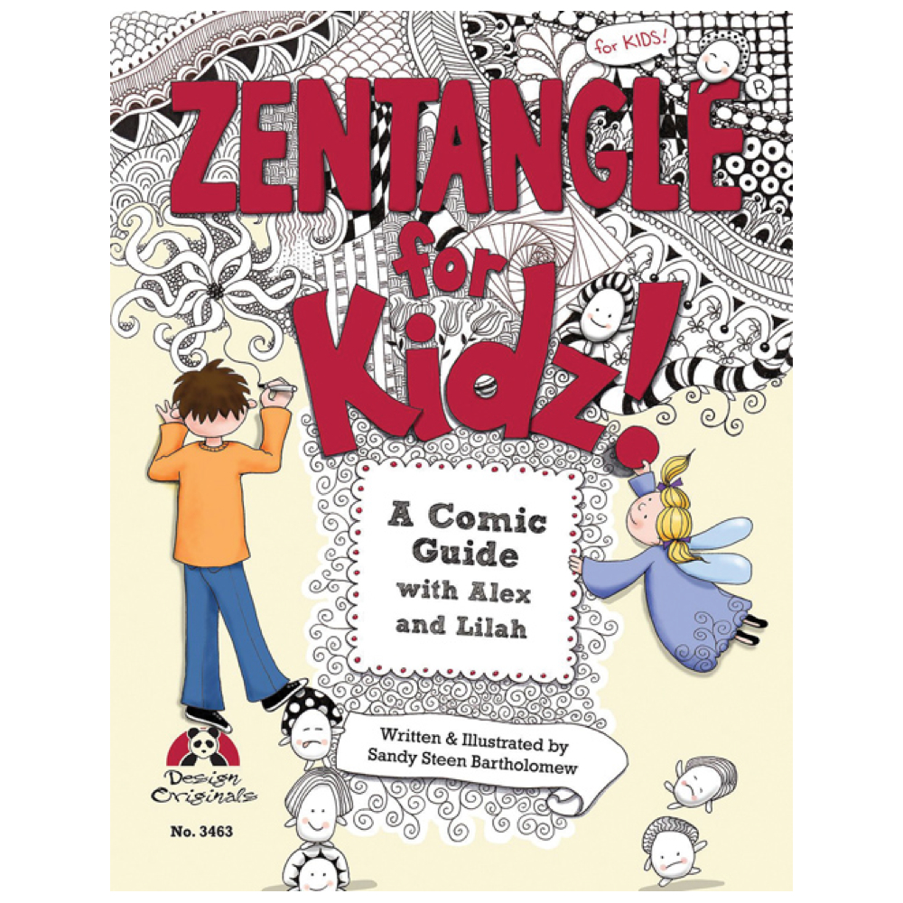 Zentangle For Kidz Book