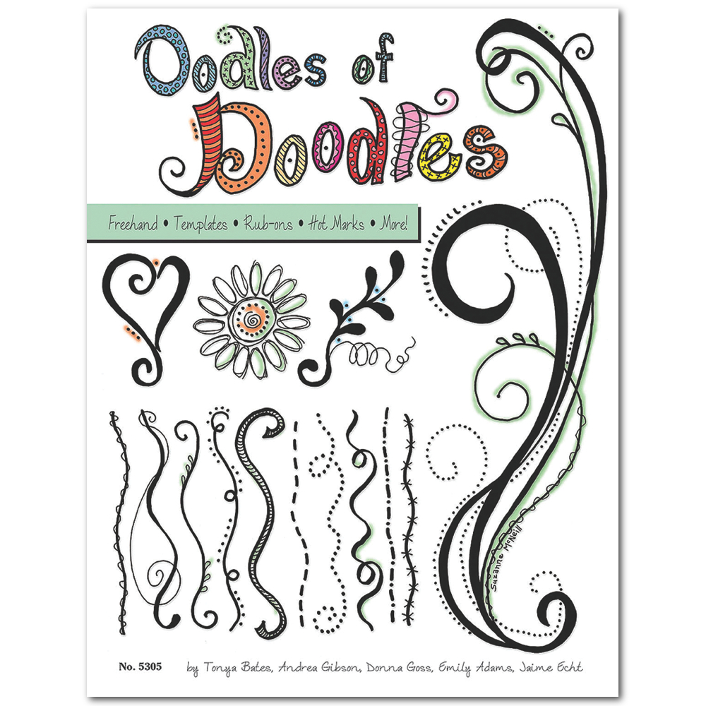 Zentangle Oodles Of Doodles Book