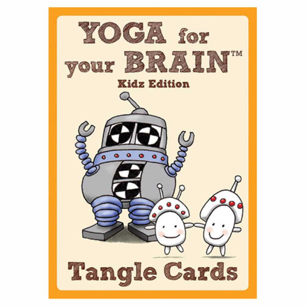 Yoga For Your Brain Kidz Cards