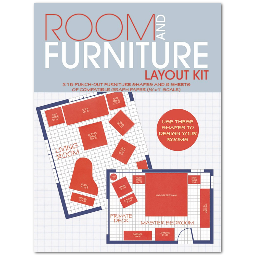 Dover Room And Furniture Layout Kit