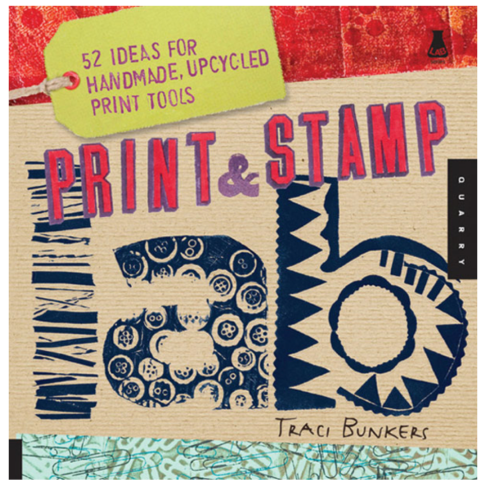 Print And Stamp Lab Book